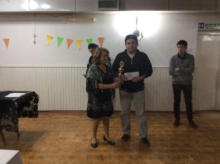 La entrega de premios