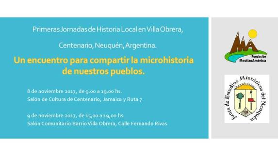 un encuentro para compartir la microhistoria