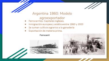 Movimientos migratorios.2- 2° Jornada de Historia Local